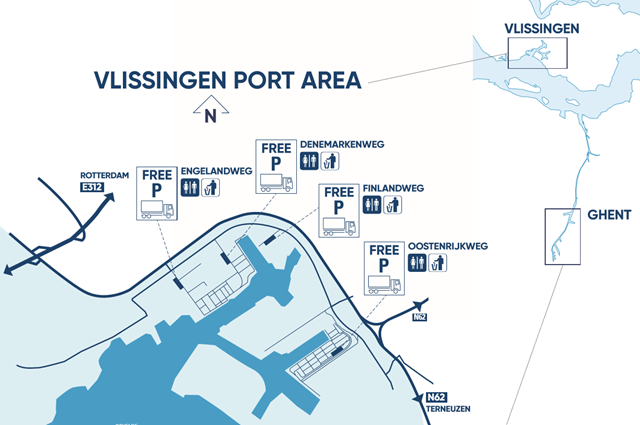 Truckparking Vlissingen